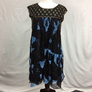 Anthropologie Moulinette Soeurs Black Lydia Dress